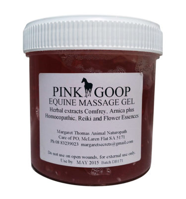 Pink-Goop-Equine-Massage-Gel